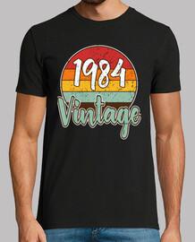 cumpleaños vintage clásico 1984