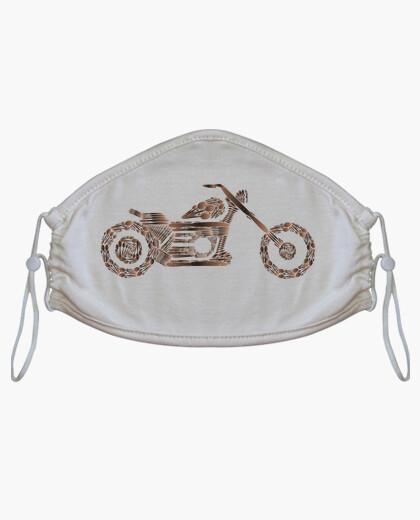 Mascherina cuoco biker