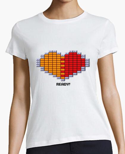 T-shirt cuore - arkanoid
