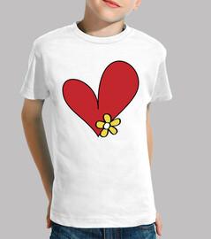 cuore di fiore