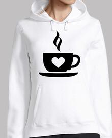 cuore di tazza di caffè