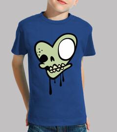 cuore di zombie cranio