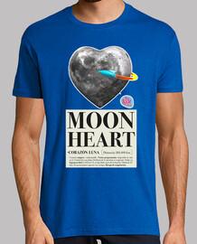 cuore luna uomo