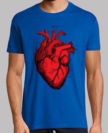 cuore vintage -rosso e nero