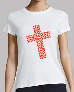 cuori croce cattolica