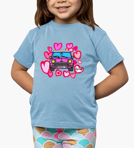 Abbigliamento bambino cuori rosa mini