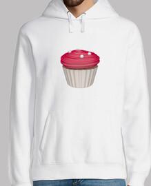 Cupcake de frambuesa