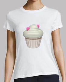 Cupcake de fresa y nata