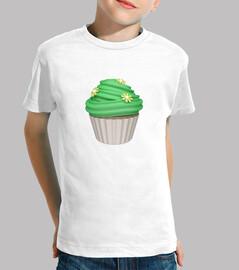 Cupcake de menta