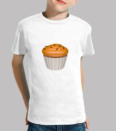 Cupcake de naa y chocolate