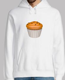 Cupcake de naraja y chocolate