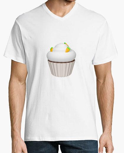 Camiseta Cupcake de zanahoria