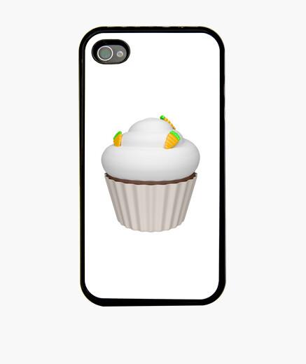 Funda iPhone Cupcake de zanahoria
