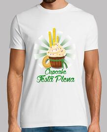 cupcake festa pleine design blanche