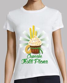 Cupcake festa plena Blanca