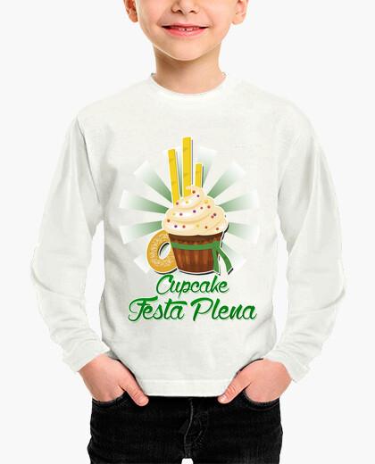 Ropa infantil Cupcake festa plena Blanca