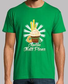 Cupcake festa plena Diseño Verde