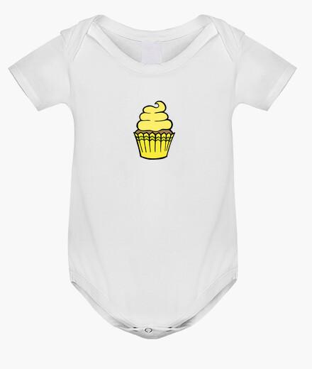 Abbigliamento bambino cupcake giallo