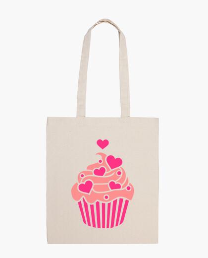 Bolsa Cupcake hearts