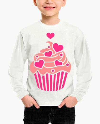 Ropa infantil Cupcake hearts