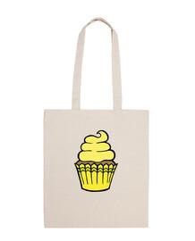 cupcake jaune