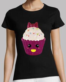 Cupcake Kawaii / Magdalena con Lazo