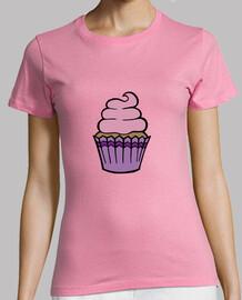 Cupcake purple