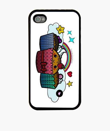 Funda iphone cupcakes n 374228 fundas iphone latostadora - Personalizar funda iphone ...