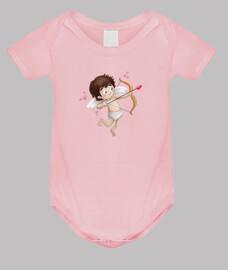 Cupido - Body bebé, rosa