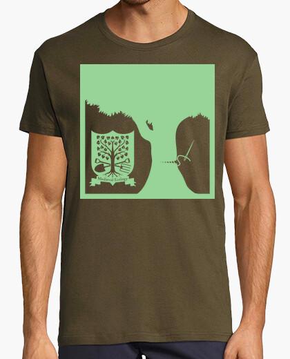 Camiseta Curando los árboles (verde)