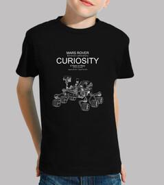 curiosité rover mars science lab-6 ans
