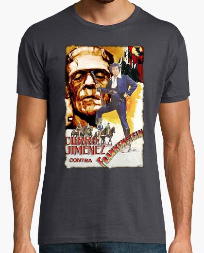 Camiseta Curro Jiménez contra Frankenstein