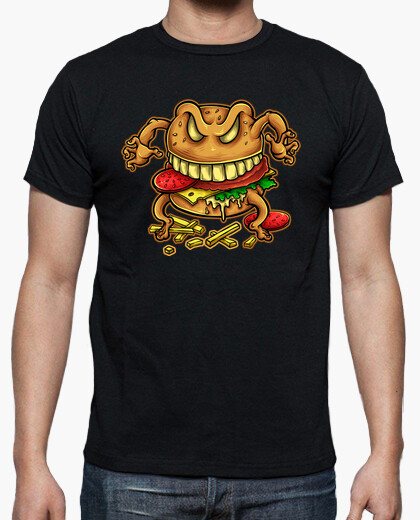Curse of the burger t-shirt