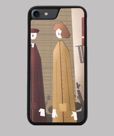 custodia cover iphone 7/8 gegants nera