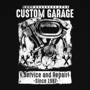 Custom Garage T-shirts