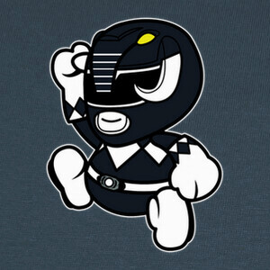 Camisetas Cute Black Ranger