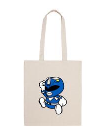 cute blue ranger bag