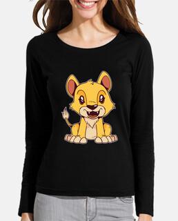 Cute Cartoon Lion Animals Wildlife Gift