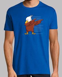 Cute eagle dabbing character gift regalo