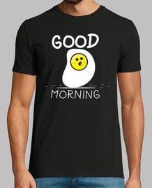 Cute Egg Breakfast Good Morning