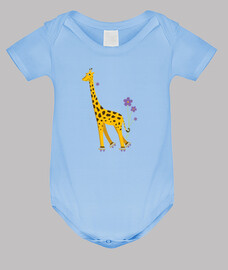 cute funny cartoon giraffe