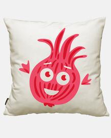 Cute Funny Cartoon Red Onion