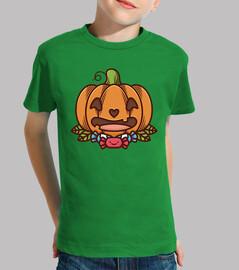 Cute Halloween Pumpkin Kawaii Design