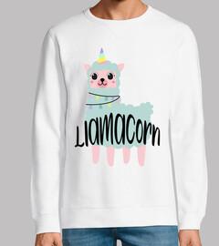 Cute llamacorn