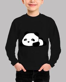 cute panda kawaii kid t-shirt