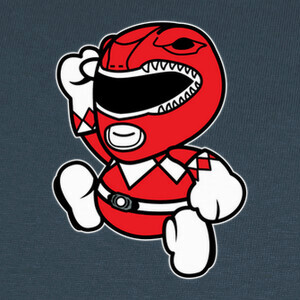 Camisetas Cute Red Ranger