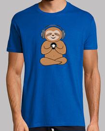 Cute Sloth Vinyl Music Gift Idea