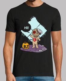 cute voodoo - men's short sleeve t-shirt