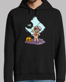 Cute Voodoo — sudadera capucha hombre