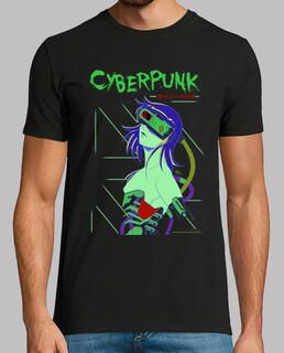 cyberpunk - homme à manches courtes